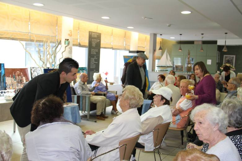 Echange et Partage avec la résidence de retraite Les Citronniers, 2015.