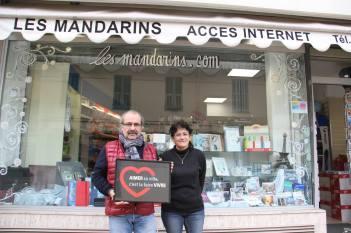 Un sourire, un accueil chaleureux chez les commerçants de Roquebrune Cap Martin.
