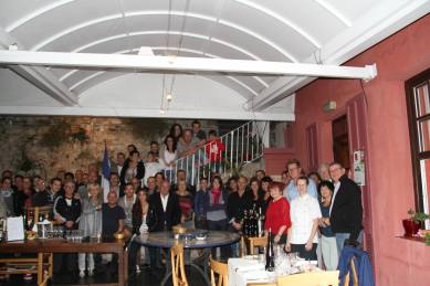 Repas des commerçants 2015, la Roquebrunoise.